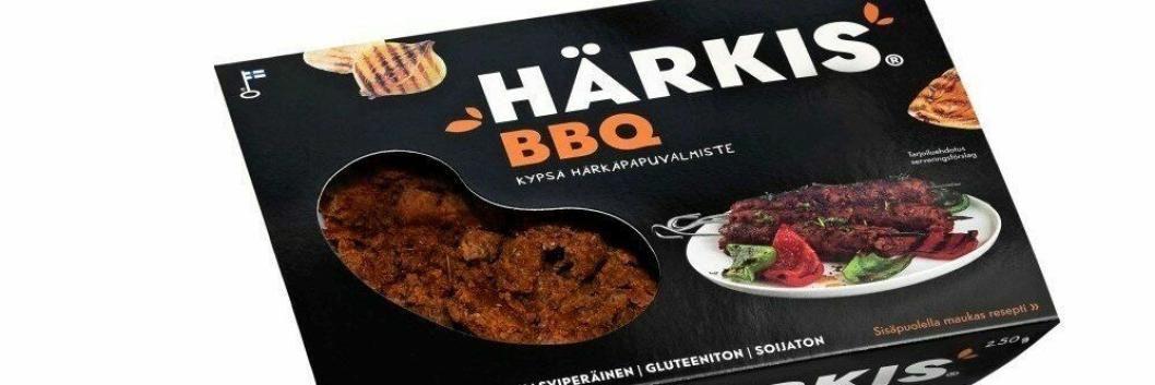 Merkevaren Härkis har på kort tid etablert seg som markedsleder i Finland.