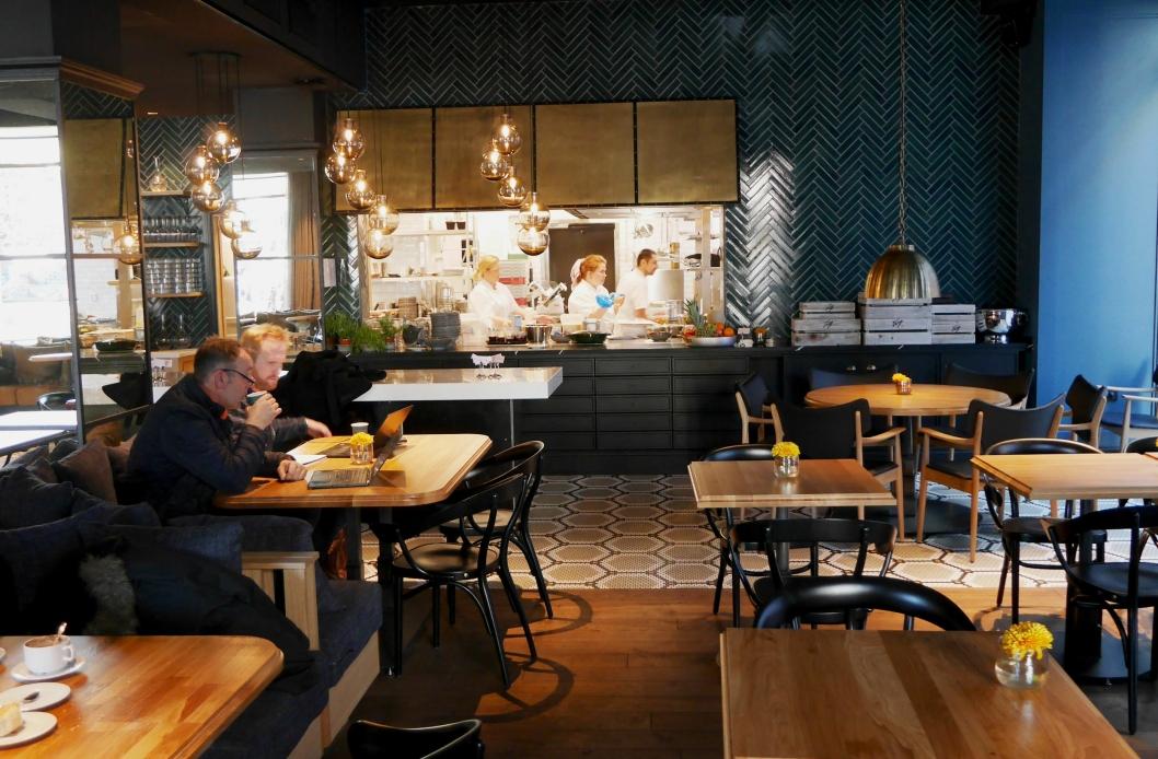 RESTAURANT: I brasseriet Atlas vil gjestene få smakfulle retter med både norsk og amerikansk stempel.<br /><br />