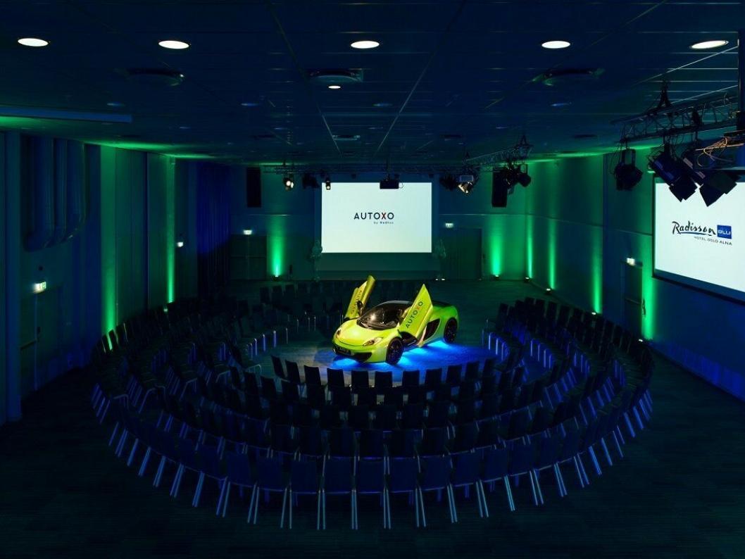 MULIGHETER: Møtelokalene er fleksible og kan huse hundretalls gjester, bilutstillinger og store konferanser.<br /><br />