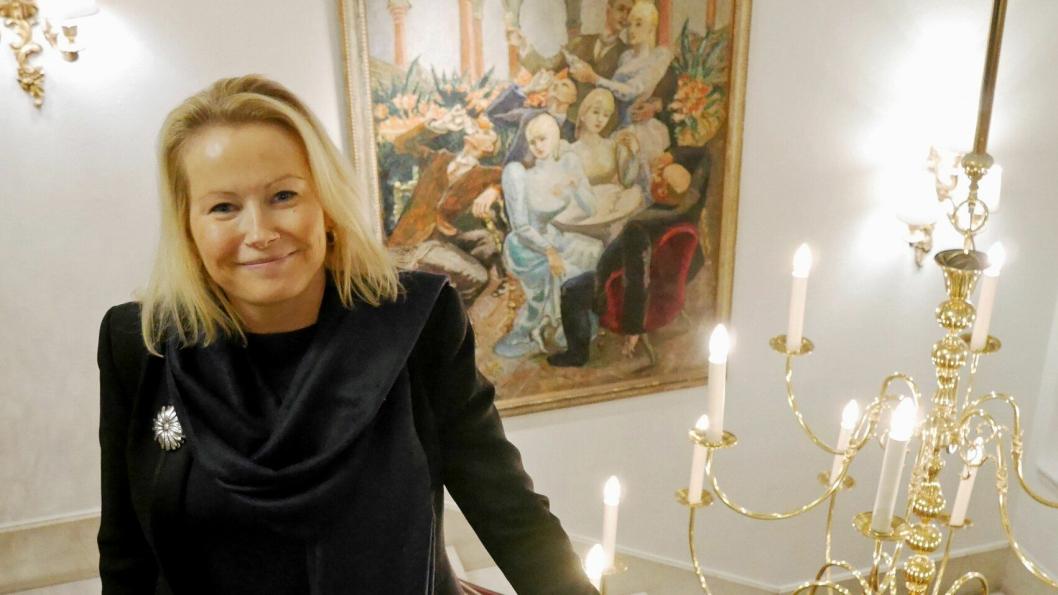 LYSEBU: Fredrikke Næss overtar som sjef på Lysebu.