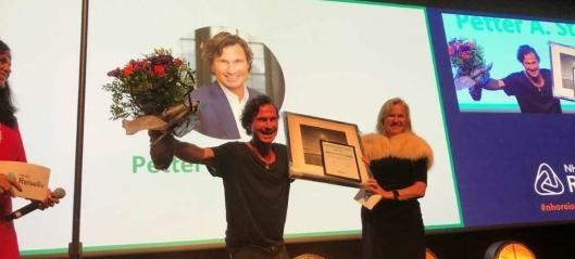 Petter Stordalen hedret av NHO Reiseliv