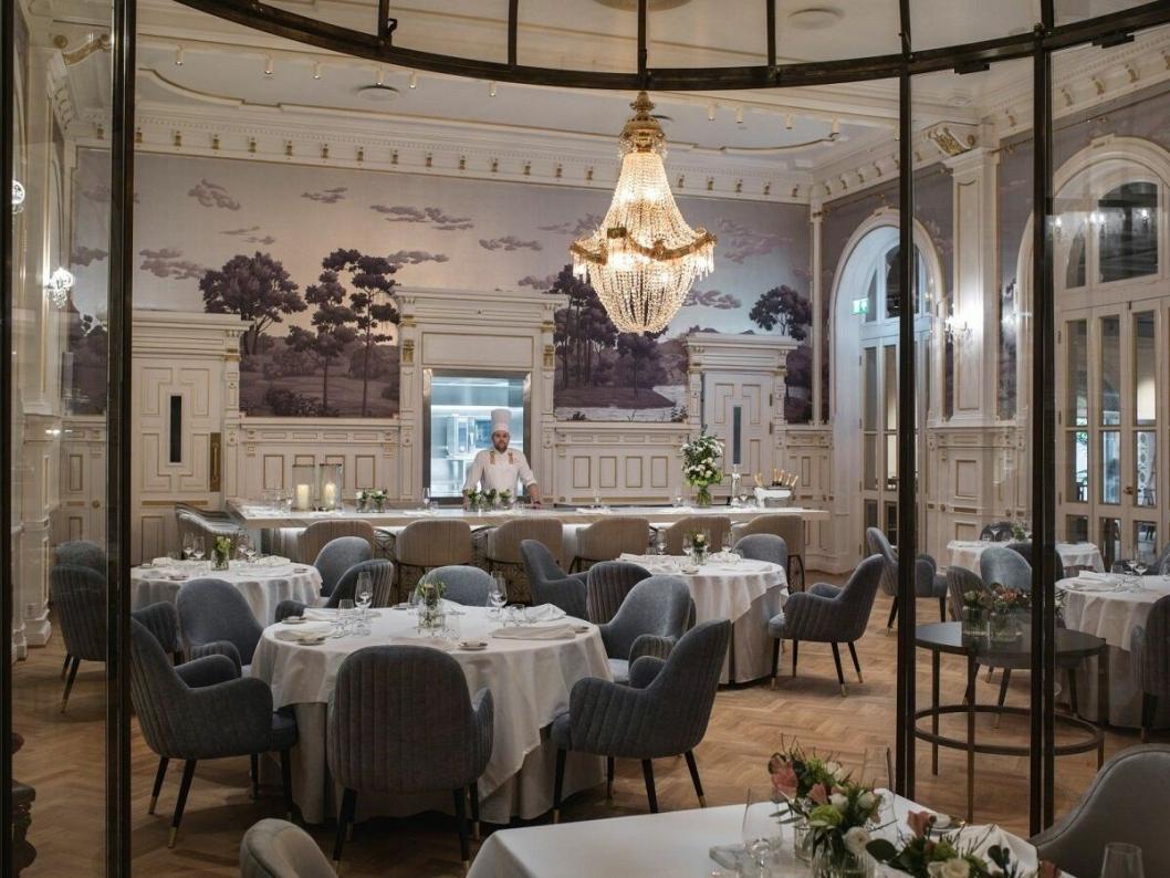 SPEILSALEN: Restauranten Speilsalen, med Christopher W. Davidsen ved roret, har høye ambisjoner.