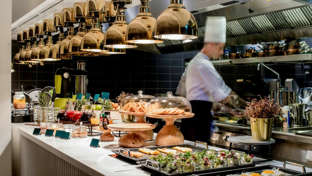 FREMDRAGENDE: Frokosten på Hotel Norge by Scandic får ros.