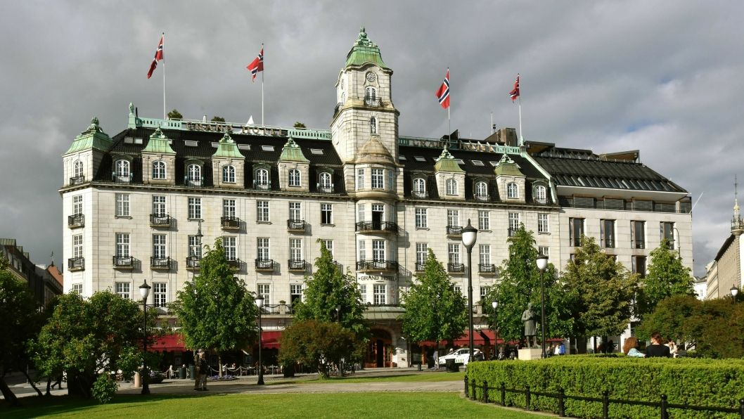 GRAND HOTEL: Ærverdige Grand Hotel i Oslo er kåret til Norges beste hotell av WTA.