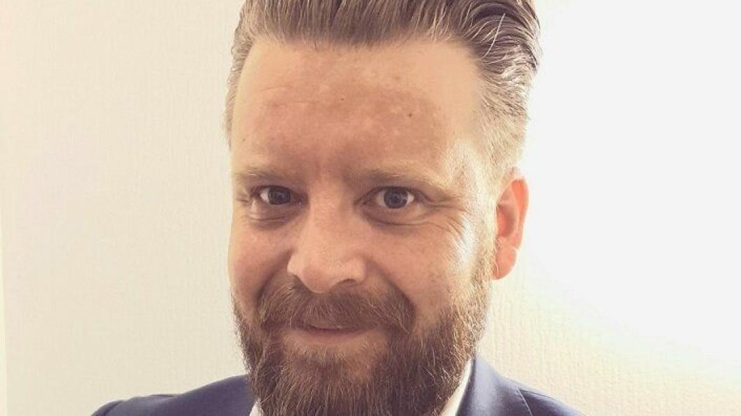 NY: Karsten Møgster er ny salgssjef i First Hotels.