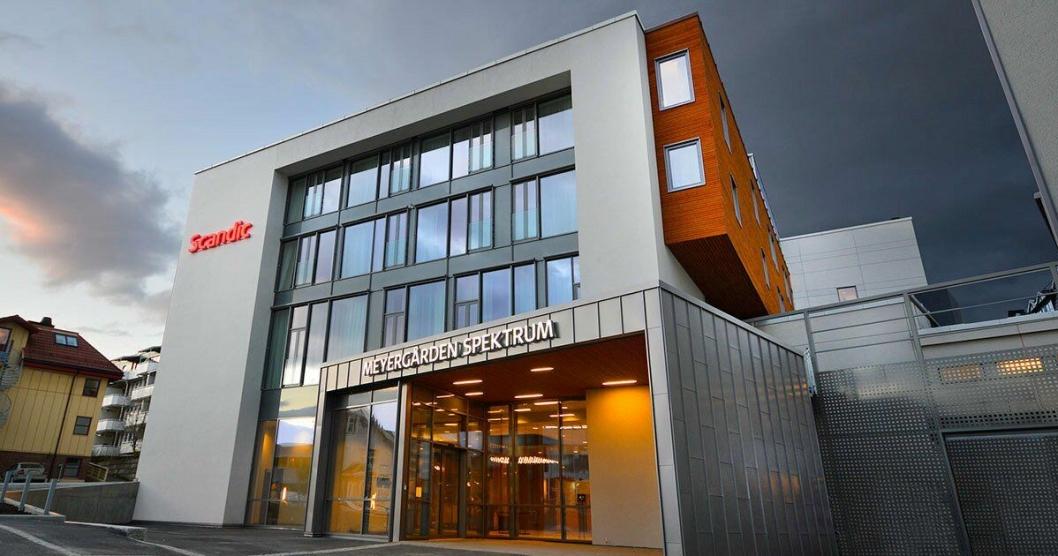 SCANDIC MEYERGÅRDEN: Hotellet ligger i Mo i Rana og er det største hotellet i Nordland.