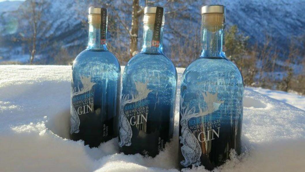 NYTT GULL: Harahorn Gin gjør det godt internasjonalt.