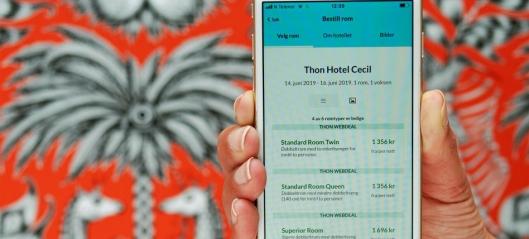 Thon Hotels lanserer ny app