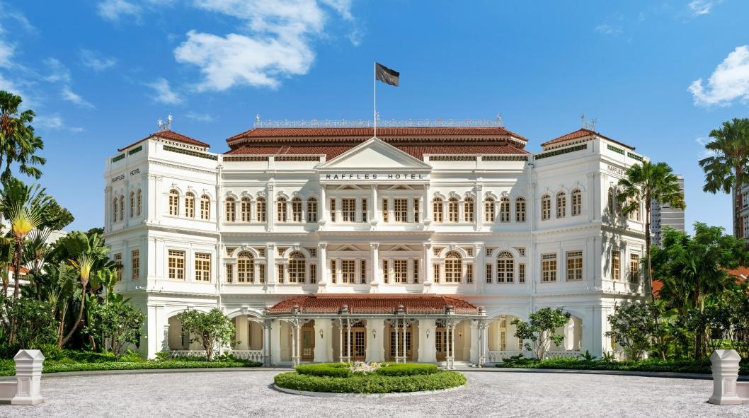 IKON: Raffles Hotel Singapore er et hotellikon.
