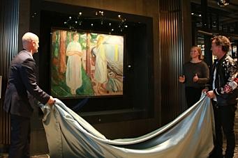 Munch-maleri til Clarion
