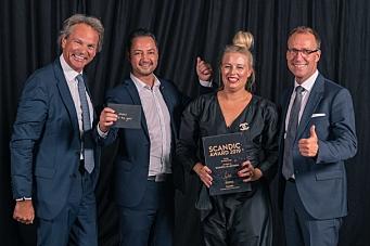 Gjeve priser til Scandic Norge