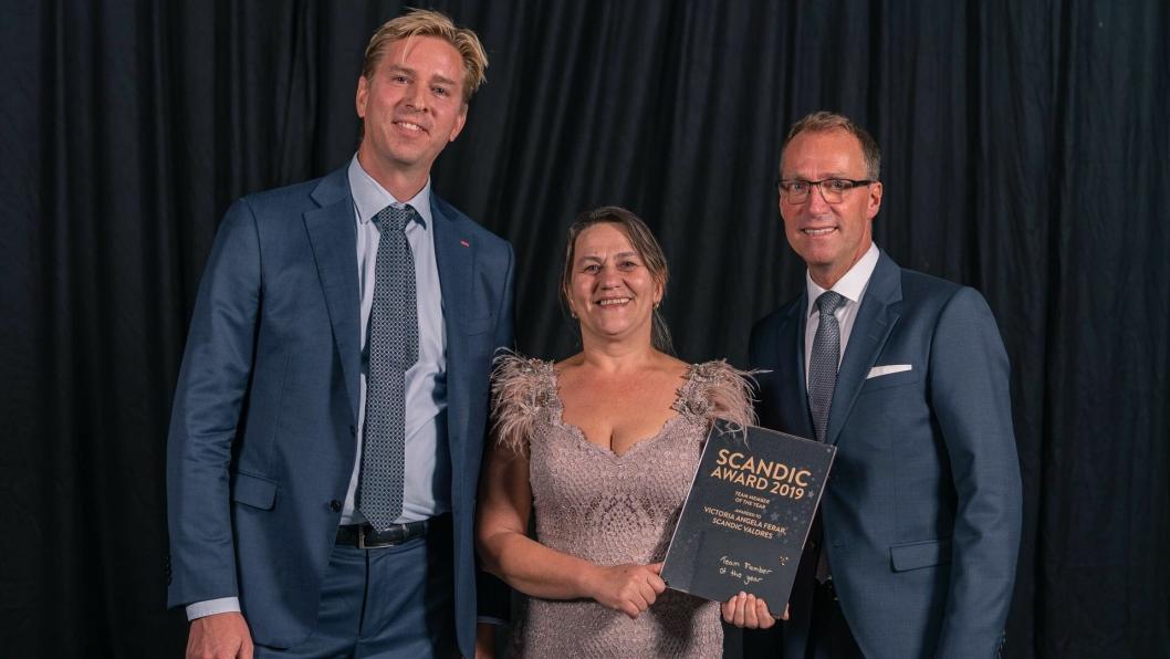 Frokostkokk Angela Ferar på Scandic Valdres ble kåret til «Årets ansatt» i Scandic blant 18 000 medarbeidere.