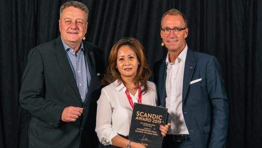 Housekeeping-teamet på Scandic Victoria i Oslo vant prisen for «Årets team».