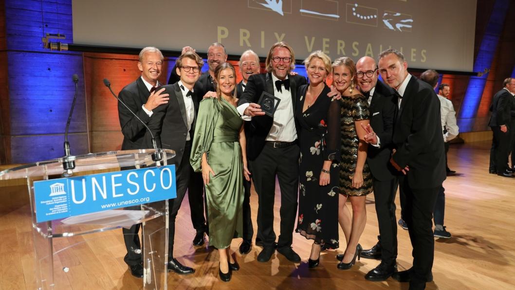 VINNERLAG: Stylt vant nylig en prestisjetung UNESCO-pris for sitt hotelldesign i nord-Sverige.