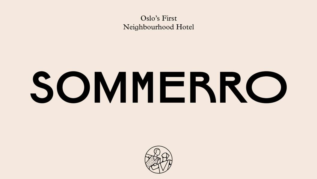 SMAKSPRØVE: De første logoene og symbolene fra Sommero, er nå klare.