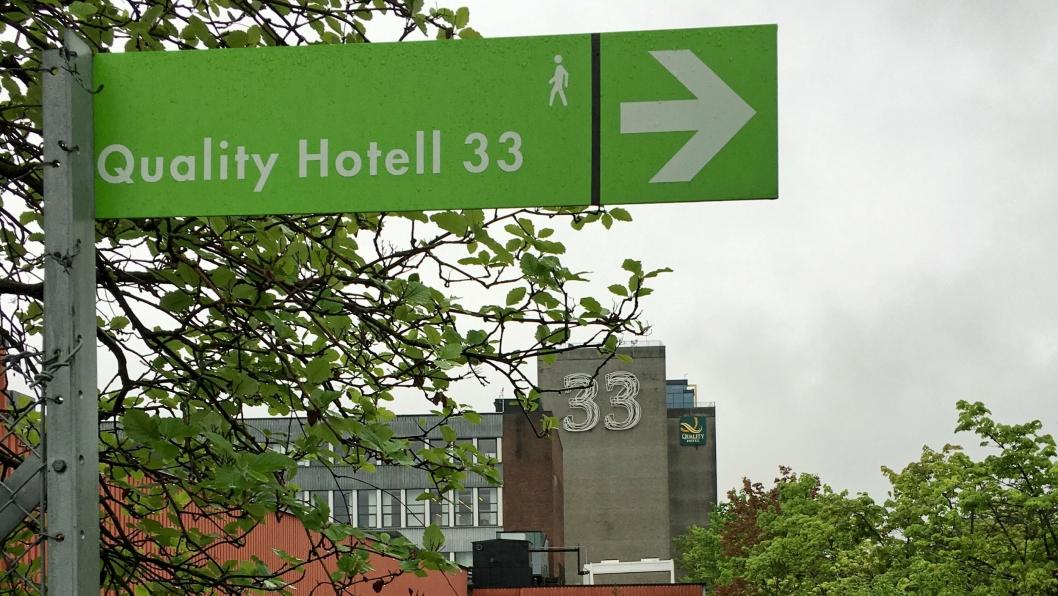 JULEBORD: Quality Hotel 33 vil ha tips om ildsjeler som fortjener gratis julebord. Foto: Hotellmagasinet.