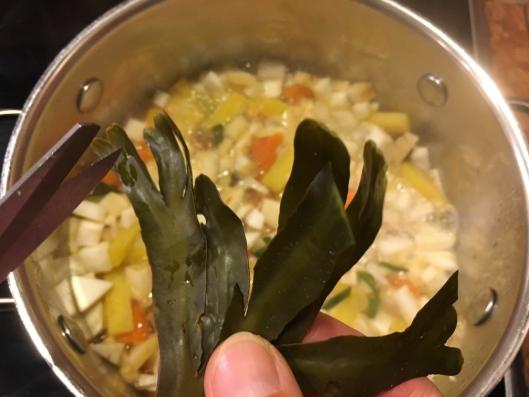 TANGSUPPE: På nettsiden finnes det flere tips til gode matretter. Blant annet denne suppen.