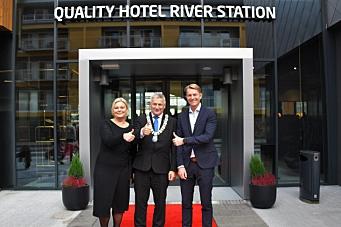 Quality Hotel River Station åpnet