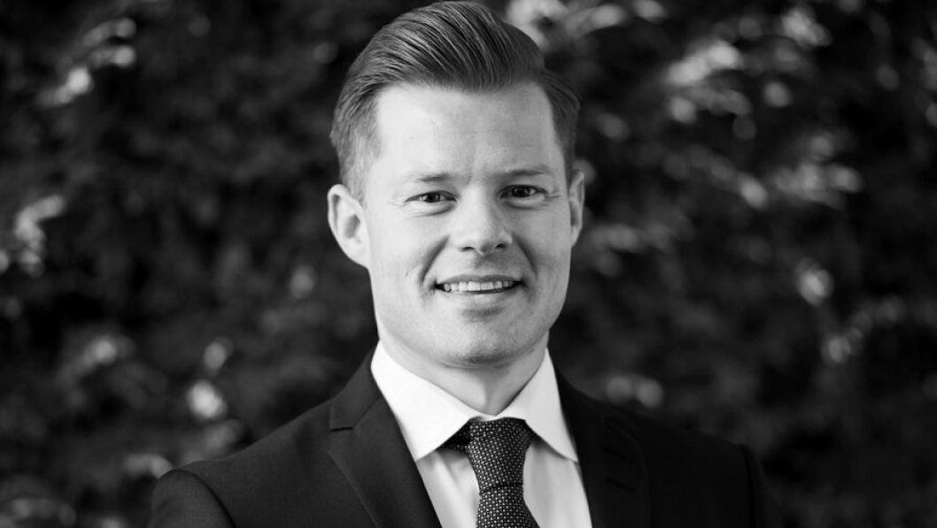 SKAL SELGE: Aleksander Ragnem er ny nordisk salgsdirektør i Belvar.