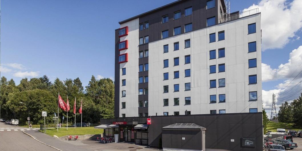 BIDRAR: Thon Hotel Linne i Oslo er ett av 12 hoteller som gir Sykehusklovnene gratis overnattinger.