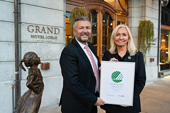 Svanemerket til Grand Hotel