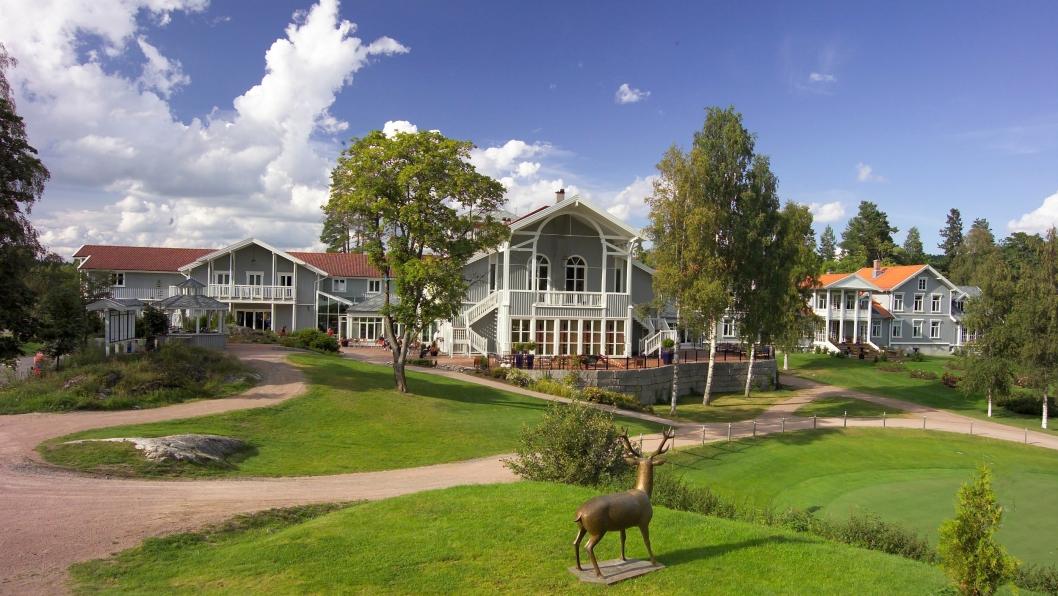 IDYLL: Losby Gods ligger på Lørenskog.
