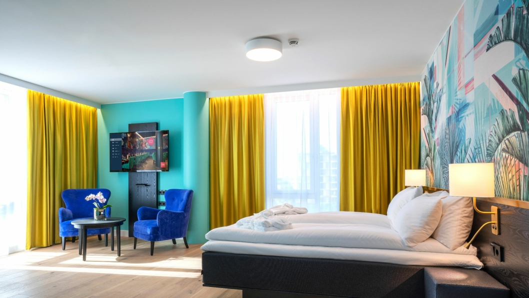 BazePort IPTV-system installert på Thon Hotel Storo.