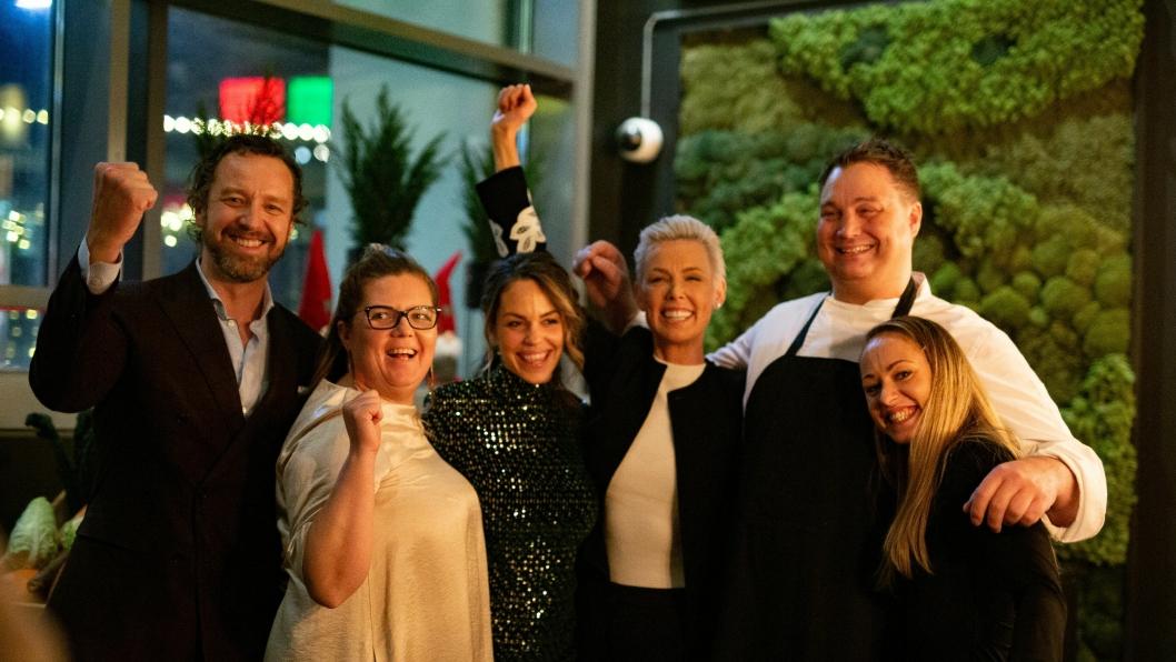 JUBEL: Fredag 13. desember ble Norges første EAT-inspirerte restaurant innviet på Vulkan i Oslo.