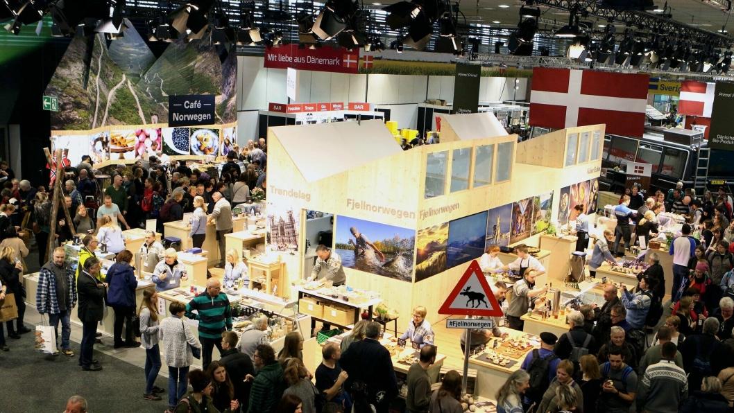 Norges stand på fjorårets Grüne Woche i Berlin.