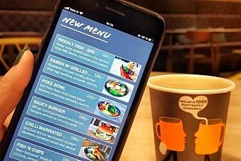Kjapp app fra Comfort