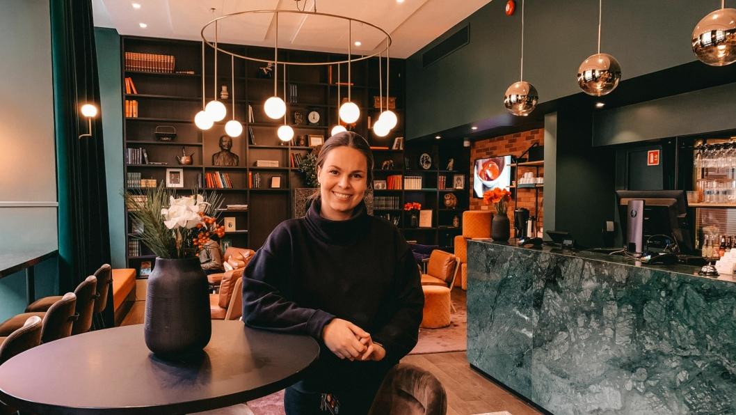GLEDER SEG: Respesjonssjef Rikke Edland gleder seg til 2020 på Hotell Bondeheimen.