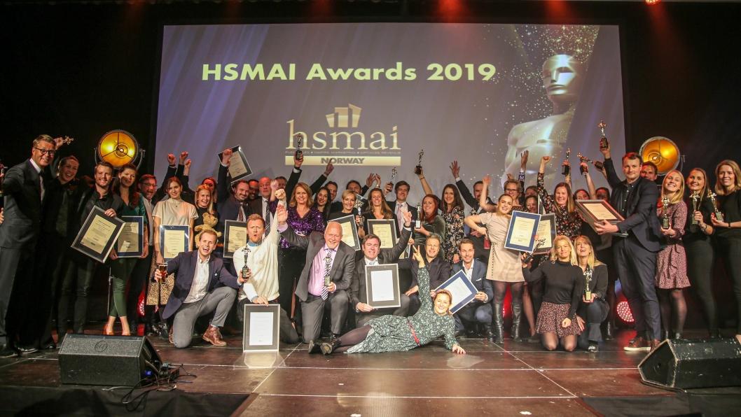 JUBEL: God stemning under HSMAI-awards. Alle foto: Camilla Bergan.