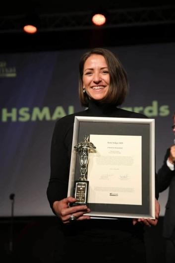 ÅRETS SELGER: Christine Kausland fra Clarion The Hub ble kåret til årets selger.