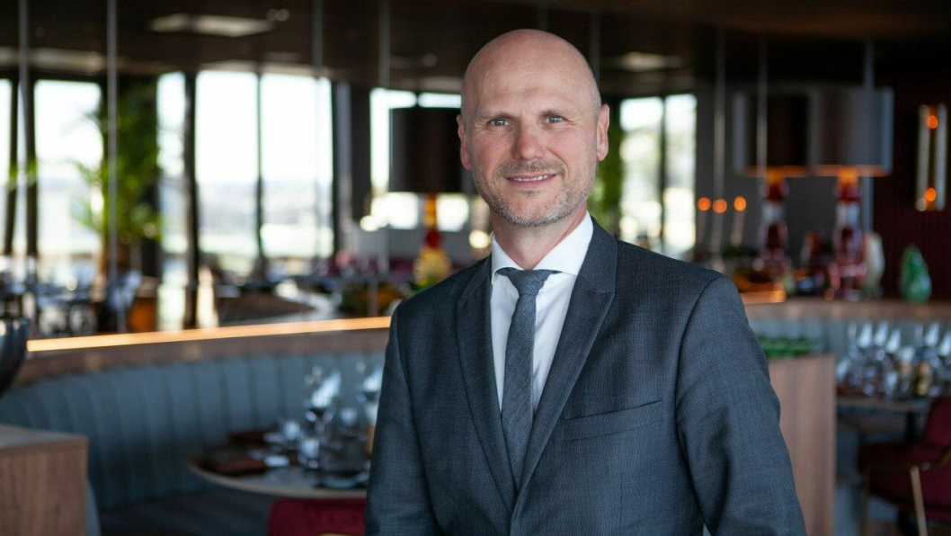 THE HUB-SJEF: André Schreiner har det store oppdraget med å lede Norges største hotell.