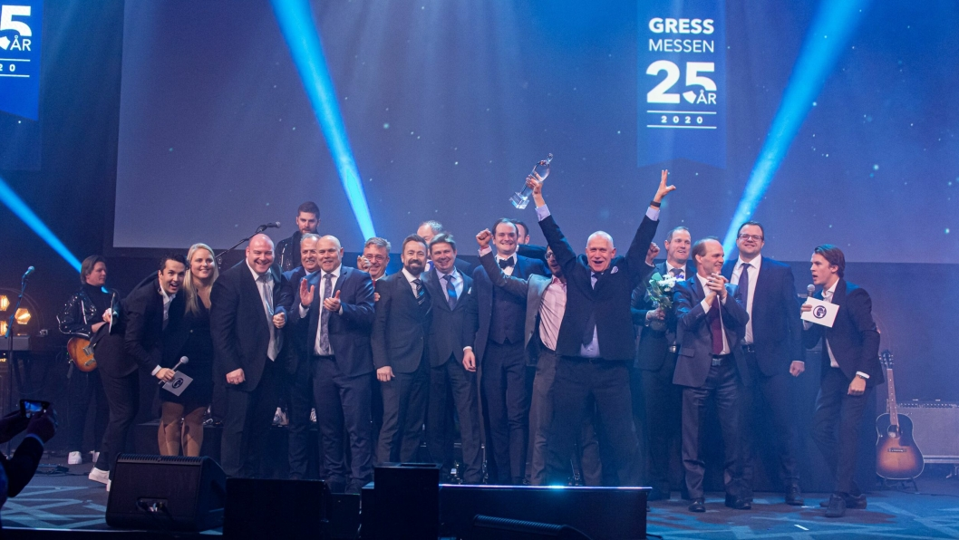 JUBEL: Haugen-Gruppen ble årets industrileverandør.