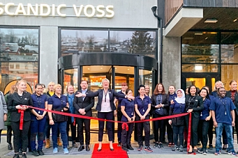 I dag åpner Scandic Voss