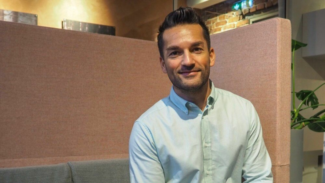 I BOKS: Rodney Miedler er ny salgssjef i Citybox, med base i Bergen.