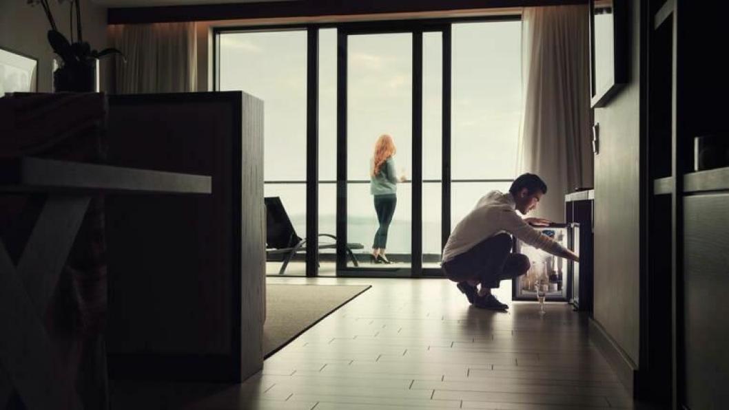POSE OG SEKK: De nye minibarene fra Domentic til både støyfrie og miljøvennlige i fremtiden.