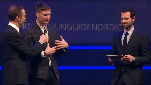 SJEF: Espen Holmboe Bang på scenen for å forklare Maaemo2.