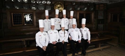 Gull til Norge i kokke-OL