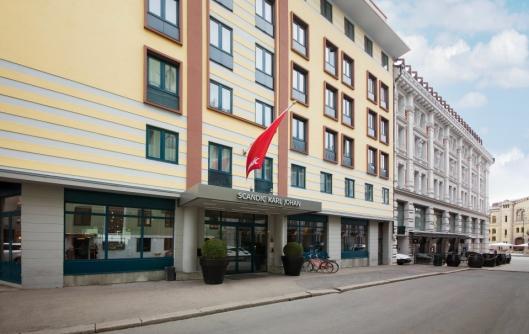 SENTRALT: Scandic Karl Johan ligger i en sidegate til Karl Johan og blir et GO-hotell.