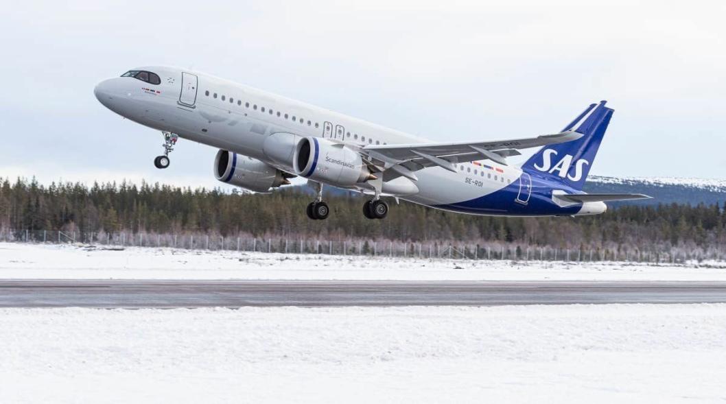 DIREKTE: SAS skal fortsette å fly internasjonale ski-turister til Trysil og Sälen.