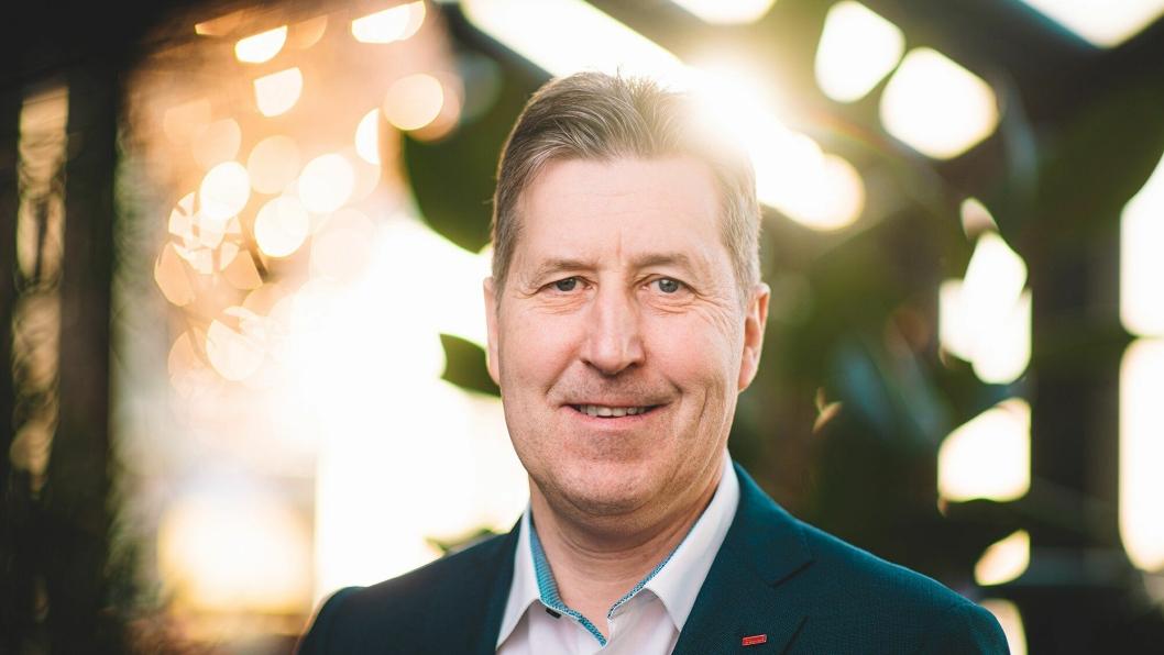 SCANDIC-SJEF: Asle Prestegard er fungerende leder for Scandic Norge.