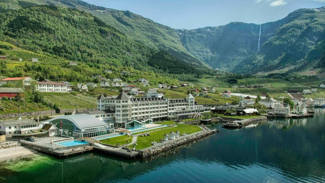 Oversiktsbilde Hotel Ullensvang