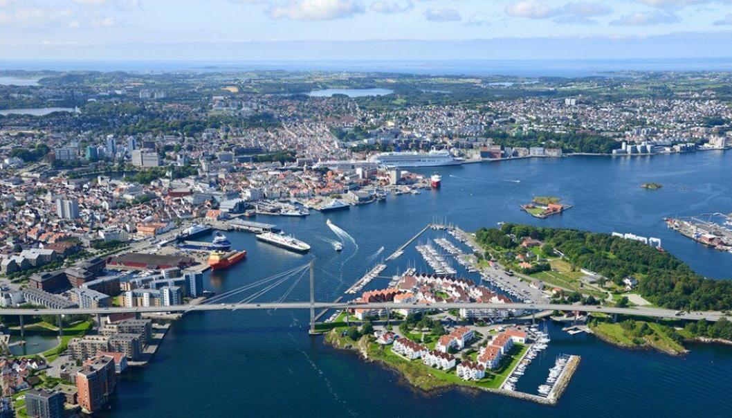 FÅR MICHELIN-FEST: Stavanger er valgt som neste arrangør av Michelin-utdelingen.
