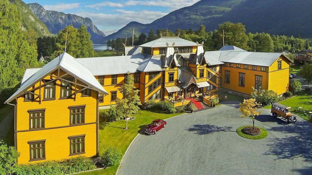 ÅPNER 20. MAI: Legendariske Dalen Hotel i Telemark åpner dørene 20. mai.