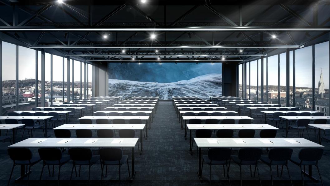 NORGE: Det nye Thon-hotellet i Kristiansand skal hete Norge.
