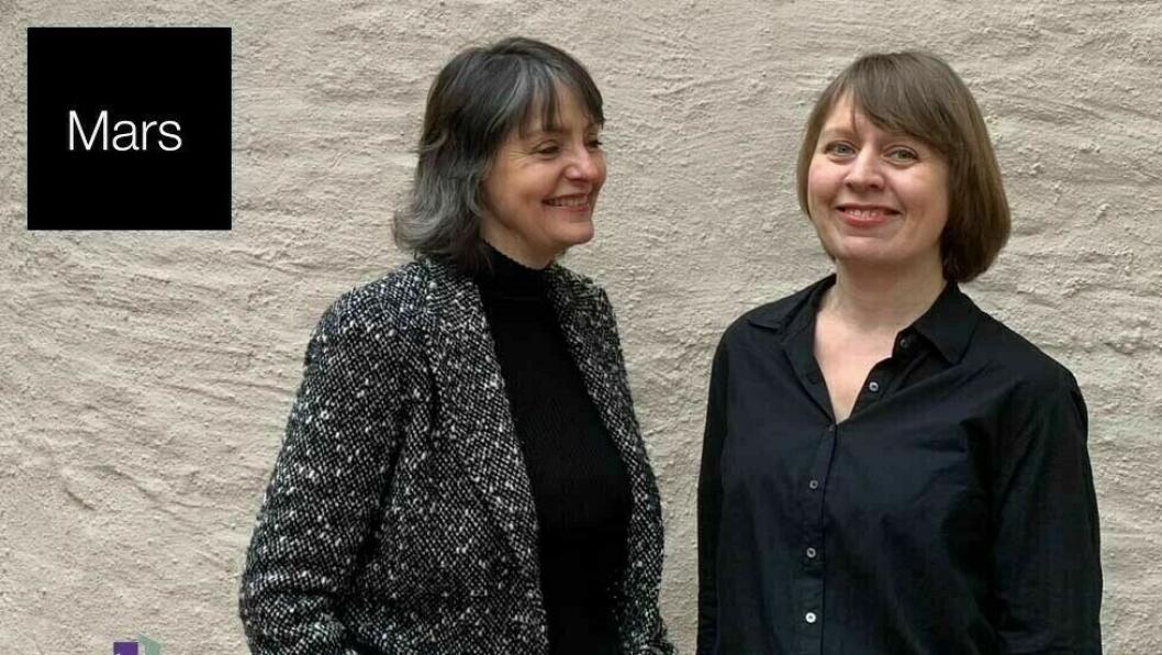 HOLDER KURS: Monna Nordhagen og Kirsti Rogne holder kurs for HSMAI-medlemmer.