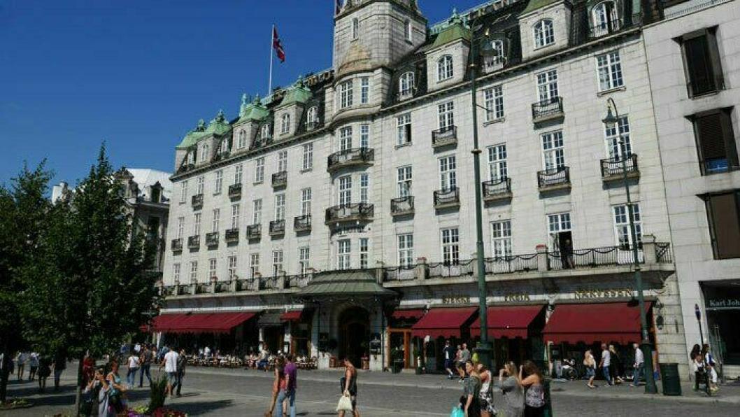 ÅPNER: Grand Hotel åpner 2. juni.