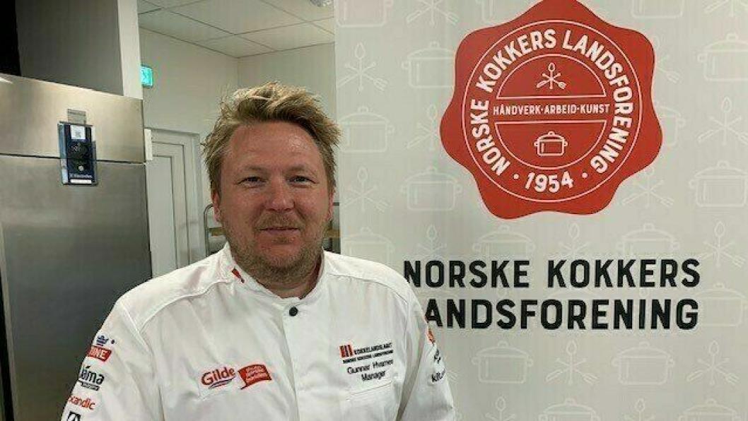 NY SJEF: Gunnar Hvarnes blir ny manager for de norske kokkelandslagene.